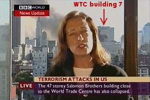 BBC announces collapse of WTC Building 7, whilst it can be seen standing