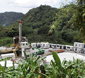 Dominica's geothermal drilling