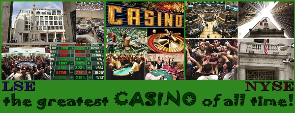 Stock exchange - the greatest CASINO of all time!